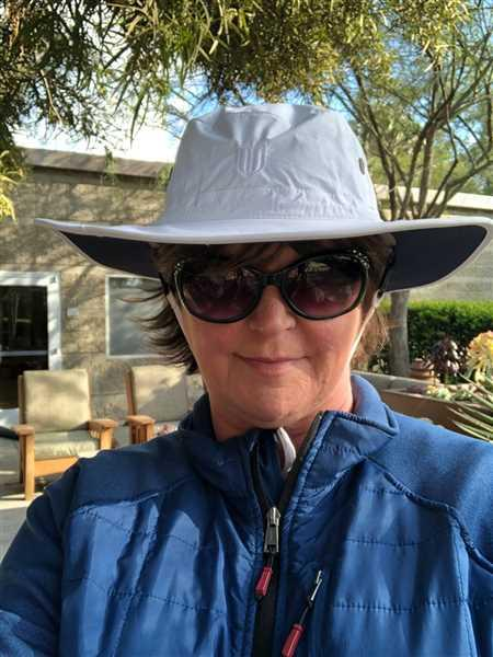Margaret Hogg verified customer review of Mens Shapeable Wide Brim Hat