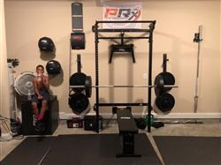 Dexter C. verified customer review of PRx Prowler Push/Pull Sled with Harness
