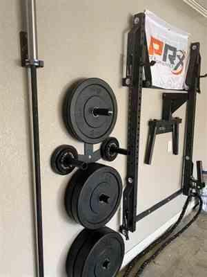 Evan McAdams verified customer review of Profile® Folding Squat Rack