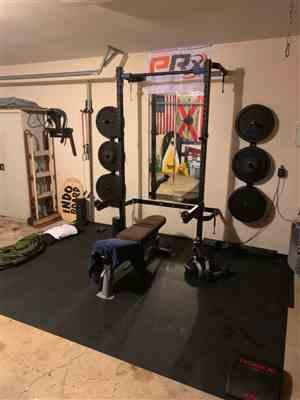 Patrick M. verified customer review of Profile® Squat Rack with Pull-Up Bar