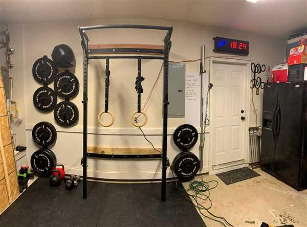 Jamie Crossland verified customer review of Profile® Squat Rack with Kipping Bar™ (As seen on ABC's Shark Tank!)