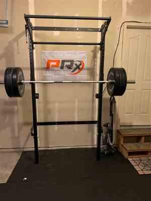 Kiyoshi Harada verified customer review of Profile® Squat Rack with Kipping Bar™ (As seen on ABC's Shark Tank!)