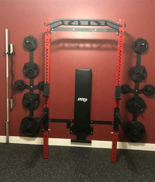 Mike L. verified customer review of Profile® PRO Squat Rack with Multi-Grip Bar