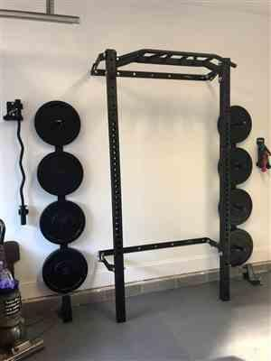 David Coates verified customer review of Profile® PRO Squat Rack with Multi-Grip Bar