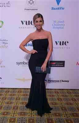 Bianca R. verified customer review of Ambition Gown Black