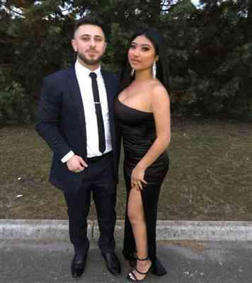 Joseph Odisho verified customer review of Tease Satin Gown Black
