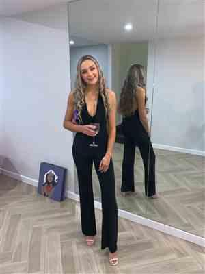 Anonymous verified customer review of Dreamlover Jumpsuit Black