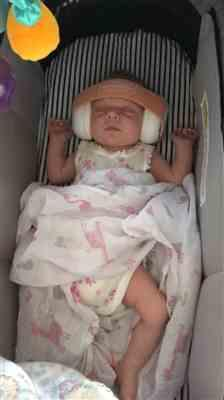Kimmi Robson verified customer review of New Junior Baby Earmuffs - Peachy Keen