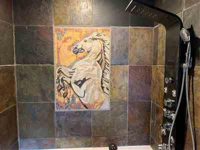 Andre L. verified customer review of Mosaic Artwork - Runaway Horse