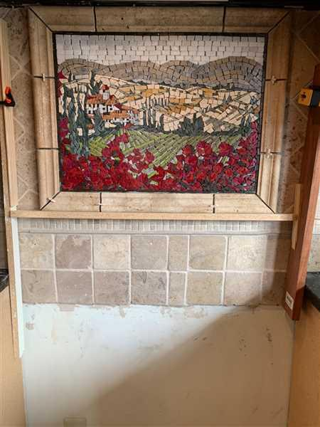 Steve Nadrowski verified customer review of Mosaic Designs - Tuscan Ville