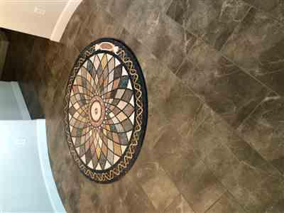 Sherry Rogers verified customer review of Round Marble Mosaic Art - Falak