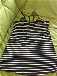 A***l R. verified customer review of Backless Stripe Loose Women Bikini Cover Up