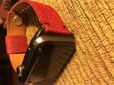 Anonymous verified customer review of Classic Leather Band