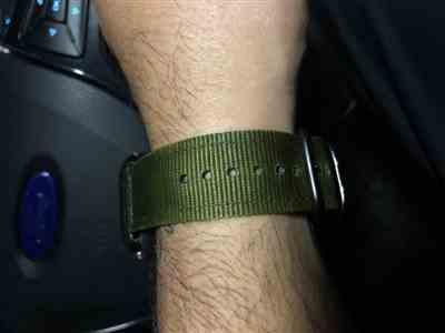 Anonymous verified customer review of Nylon Band
