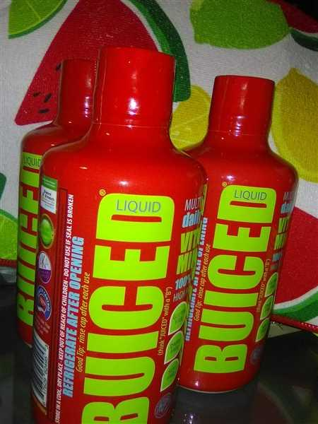 BUICED 90 Day Supply | Fruit Punch Flavor Review