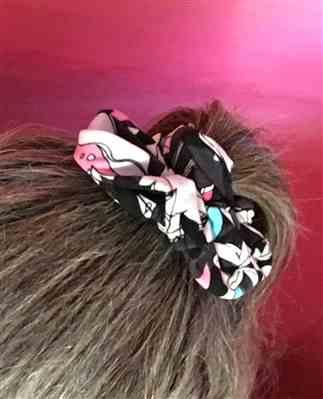 Kristel verified customer review of Fleur Real Scrunchie