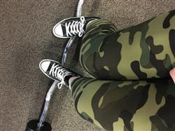 Molly C verified customer review of Sweet Camo Petite
