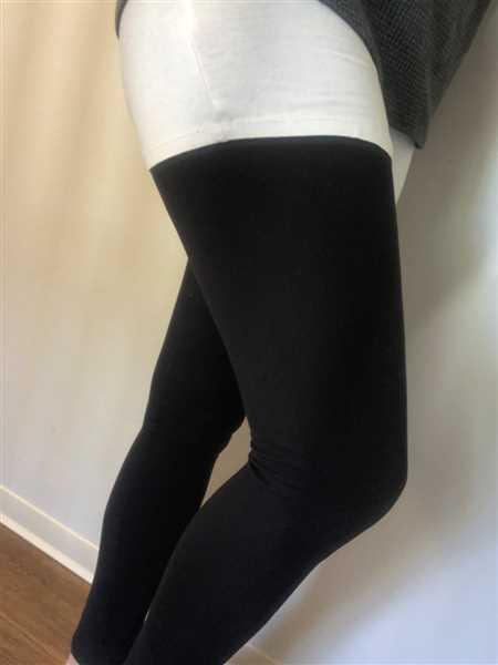 SweetLegs Clothing Inc Black Licorice Petite Review