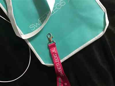 Tara verified customer review of Reusable SweetLegs Tote Bag