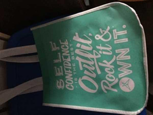 Kris verified customer review of Reusable SweetLegs Tote Bag