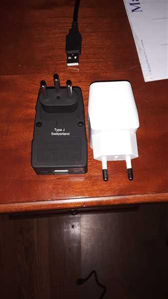 Anonymous verified customer review of Switzerland Travel Adapter - Type J - 4 in 1 - 2 USB Ports (GP4-11A)