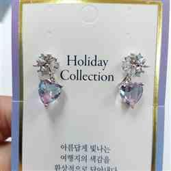 ellina e. verified customer review of HOLIDAY LOVE Earring (silver post)