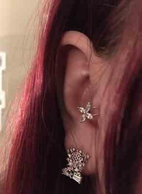 Benedicte Holterbakken verified customer review of LOHNE Ear Cuff