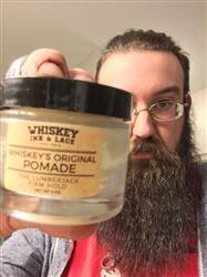 John M. verified customer review of The Lumberjack Classic Pomade