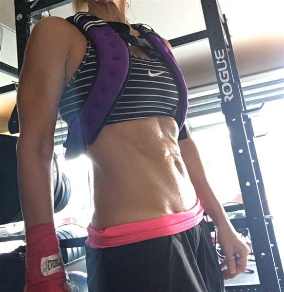 Kellie Medeiros verified customer review of BodyRock Weighted Vest