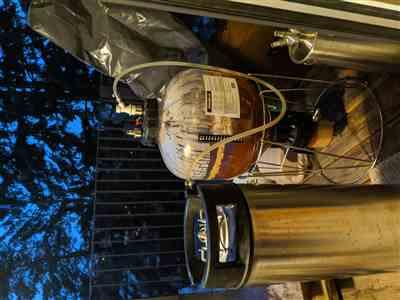 Simon Franz verified customer review of The Premium 23L Home Brew Keg Package
