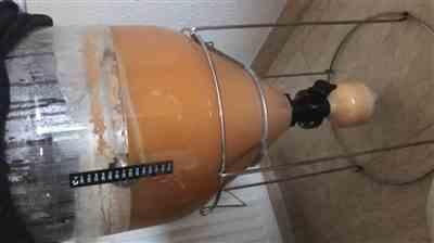 Andreas Thurmayr verified customer review of Fermentasaurus Conical Fermenter - 35L Uni Tank With Optional Ball Lock Posts