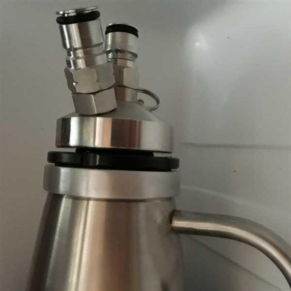 Friedrich Nagel verified customer review of Growler Keg Tap Adapter | Custom Made | iKegger