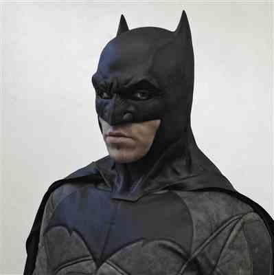 Christian P. verified customer review of Batman V Superman - Dawn Of Justice inspired cowl