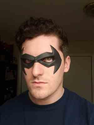 Tim verified customer review of Comic Style mask #5 - Can be made in various colors