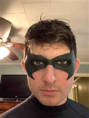 Troy Stephens verified customer review of Comic Style mask #4 - Can be made in various colors