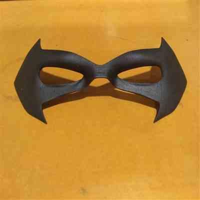 Marty D. verified customer review of Comic Style mask #4 - Can be made in various colors