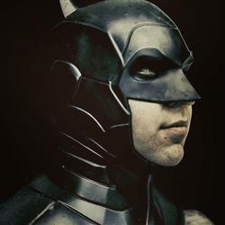 Wonder Woman Is Real verified customer review of Batman Armored New 52 inspired cowl (head piece)