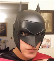 Julio Dominguez  verified customer review of Batman Armored New 52 inspired cowl (head piece)