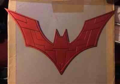 Jon Hernandez verified customer review of Custom design Batman Beyond inspired chest emblem (can be made in various colors)