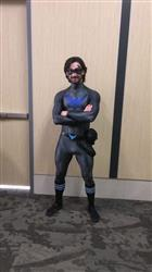 Danik C. verified customer review of New 52 inspired Nightwing Sidekick Superhero Mask - (can be made in various colors)