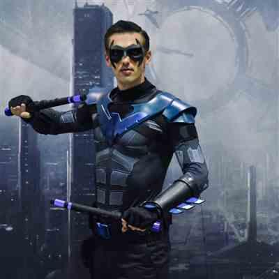 Clint S. verified customer review of Original design Nightwing inspired Sidekick Superhero Mask - (can be made in various colors)