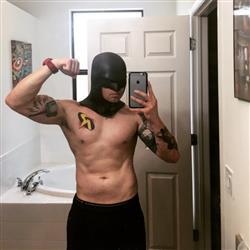 James S. verified customer review of Earless comic cowl (original design) - Great for Red Robin, Space Ghost, Midnighter etc cosplays :)