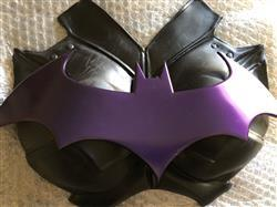 Gina verified customer review of Batman Arkham City inspired chest emblem (can be made in various colors)