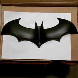 Alexander Spillane verified customer review of Batman Arkham City inspired chest emblem (can be made in various colors)