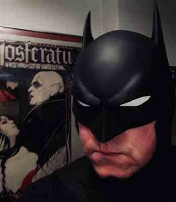 David Reuss verified customer review of Batman animated movie Justice League War inspired cowl / mask - Batman Bad Blood, Justice League Dark etc.