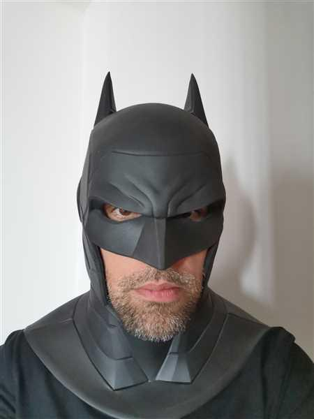 Tiger Stone FX Armored Batman cowl / mask Review