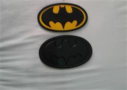 Henry Acevedo verified customer review of Batman classic oval / Batman the animated series inspired chest emblem