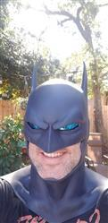 Jeff C. verified customer review of Batman animated movie Justice League War inspired cowl / mask - Justice League Dark, Batman Bad Blood etc - Larger cowl