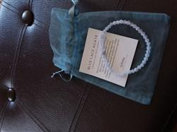 Kathryn H. verified customer review of Blue Lace Agate Mini Energy Gemstone Bracelet