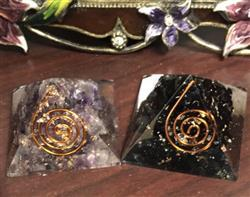 Desire B. verified customer review of Black Tourmaline Orgone Mini Pyramid